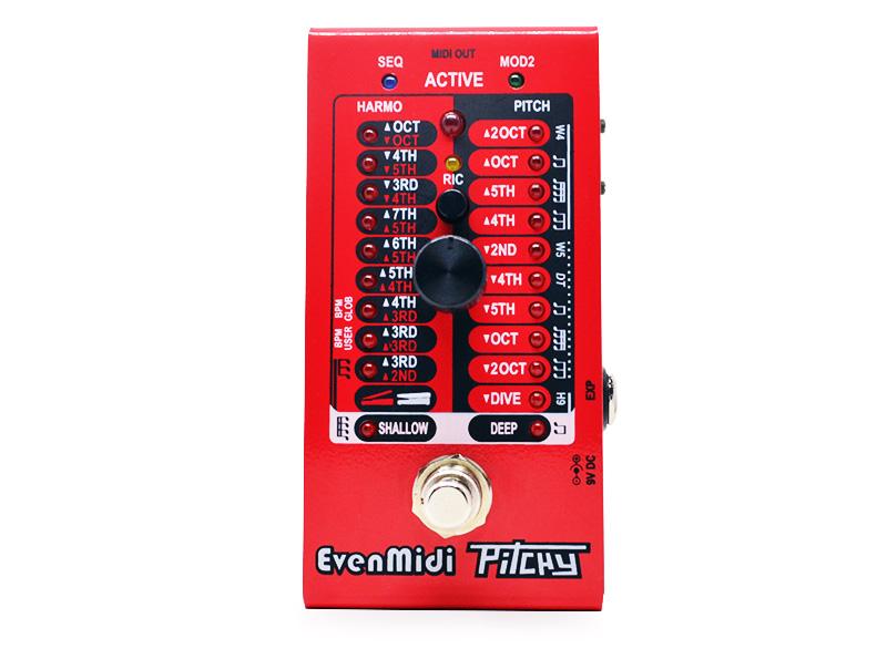 EvenMidi Eventide H9 Midi controller Pitchy