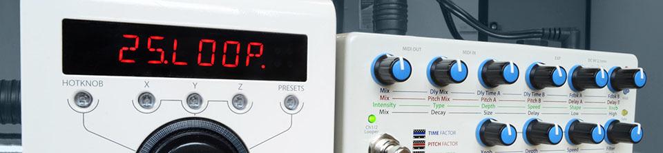 EvenMidi Eventide H9 Midi controller Standard mode