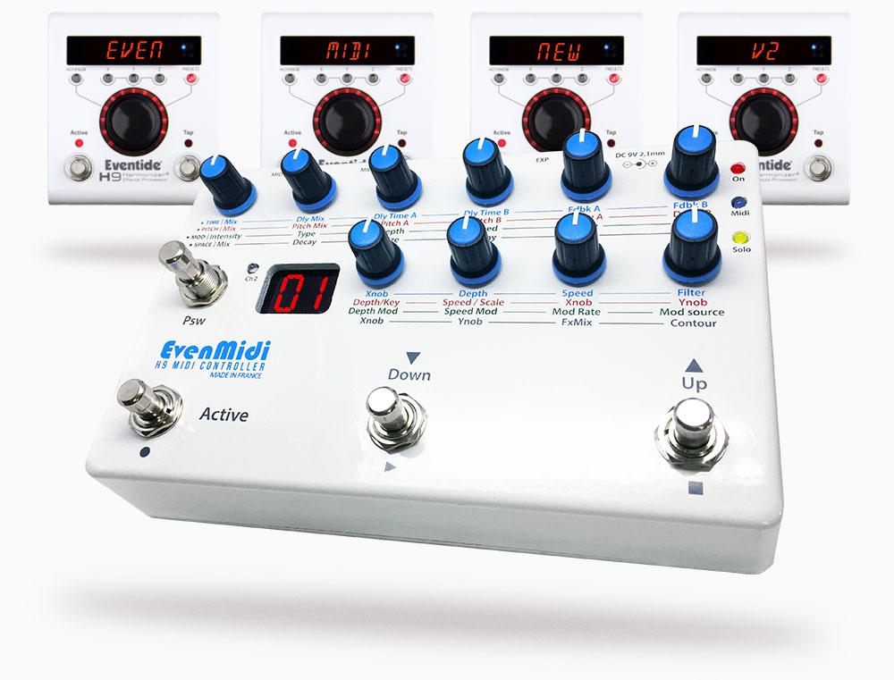 EvenMidi Eventide H9 Midi controller